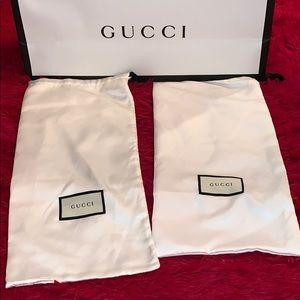 Origunal gucci dust bags